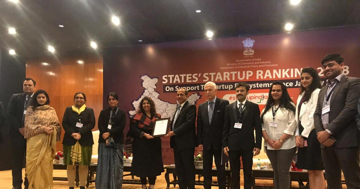 Gujarat Best State Start Up Rankings