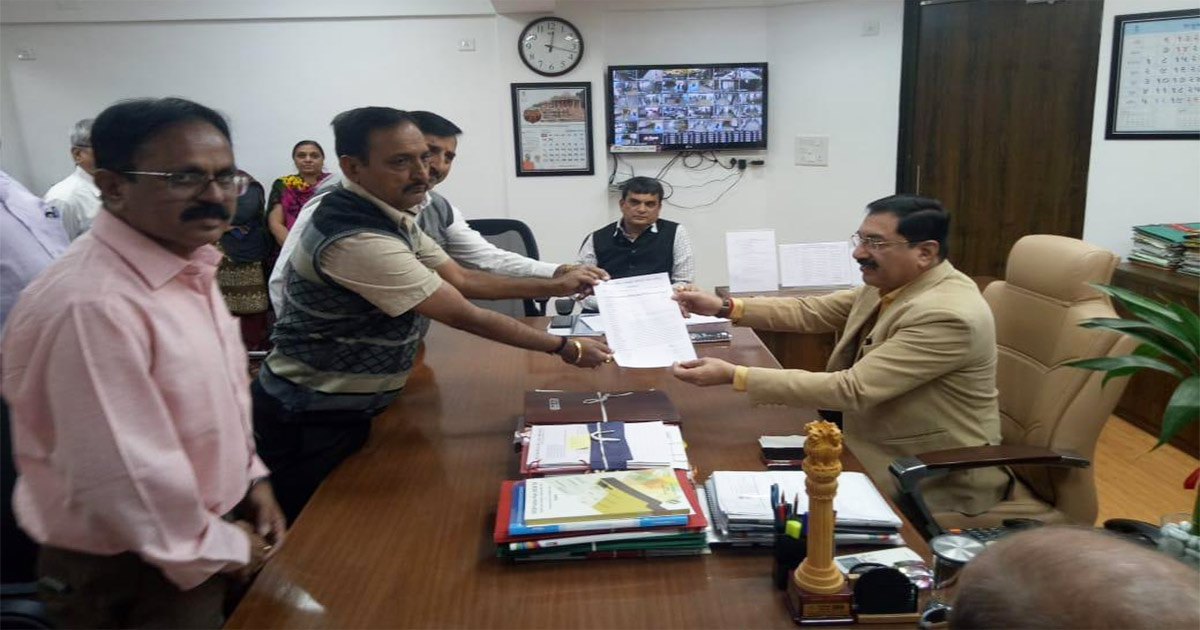Gujarat revenue Department memorandum