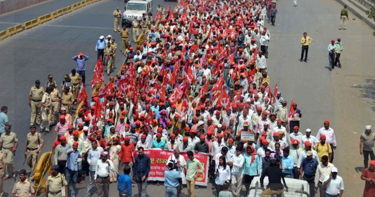 Mumbai Farmers march