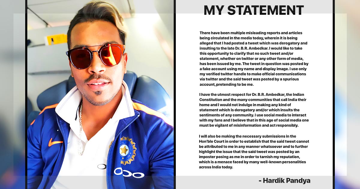 Pandya-Statement