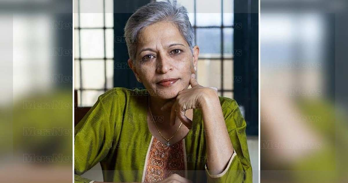 Gauri LankeshSenior journalist Gauri Lankesh